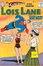 Episode Part I: Superman Family Comic Book Cover Dated October Superman's Girl Friend Lois Lane Lana Lang, Superman And Lois Lane, Superman Family, Superman Comic, Superman Logo, Silver Age Comics, Dc Comic Books, Comic Book Covers, Caricatures