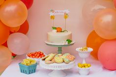 Citrus Baby Shower S