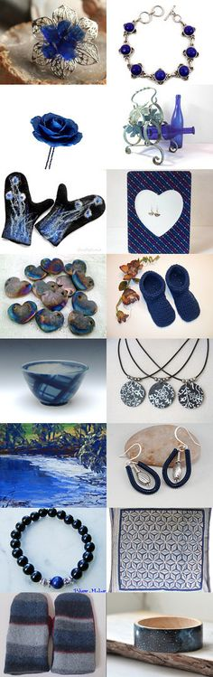 Midnight Navy by Lynn McPherson on Etsy--Pinned with TreasuryPin.com