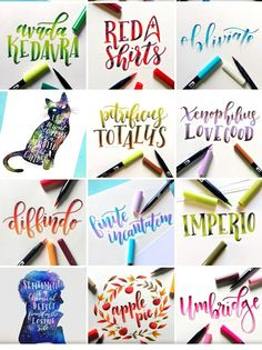 Cute Qoutes, Hand Lettering Art, Letter Art, Brush Pen, Keanu Reeves, Pens, Bullet Journal, Calligraphy, Quotes