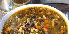 Hubová polievka Chili, Soup, Beef, Meat, Chile, Soups, Chilis, Steak
