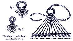 Royal Navy Hammock Clew