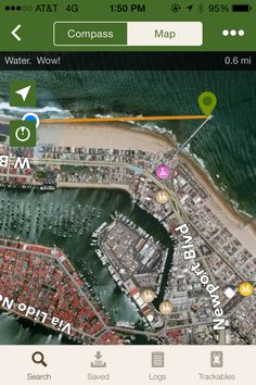 Newport Beach, CA. Just because I loved the way iPhone GPS looked.