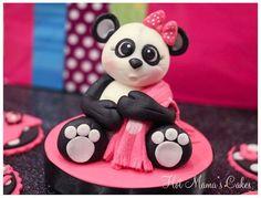 Image result for baby panda cake topper