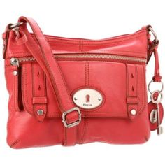 Fossil Maddox Top Zip ZB4513 Cross Body,Dusty Rose,One Size $178.00 @Amazon- Way pricey but I love it!