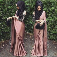 This Elegant muslim outift ideas for eid mubarak 2 image is part from Elegant Muslim Outfits Ideas for Eid Mubarak gallery and article, click read it bellow to see high resolutions quality image and another awesome image ideas. Hijab Outfit, Hijab Dress, Saree Dress, Hijab Wear, Abaya Mode, Mode Hijab, Eid Dresses, Pakistani Dresses, Dresses 2016