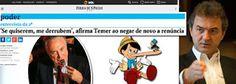 Taís Paranhos: Temer mentiu em entrevista à Folha de São Paulo qu...
