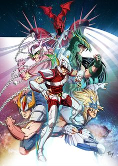 Saint Seiya !! by TBoy85 on DeviantArt