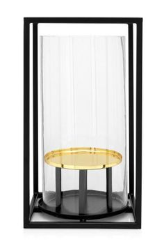 Buy Black and Brass Finish Lantern from the Next UK online shop