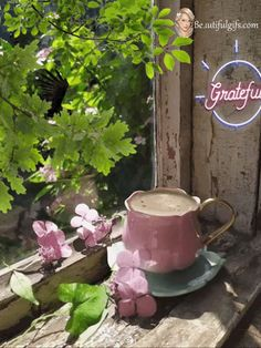 Good Morning Gif, Good Morning Friends, Gifs, Animation, Watering Can, Moscow Mule Mugs, All Art, Pencil Drawings, Canning