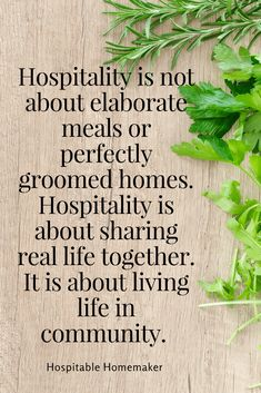 The Importance of Being Hospitable -- Part 2 in the Hindrances to Hospitality Series #HospitableHomemaker #Hospitality #Welcome