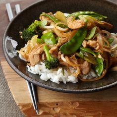 Vegetable and Chicken Stir-Fry   Food & Wine
