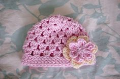 Alli Crafts: Free Pattern: Cluster Hat - Newborn  Added 2 rows of clusters and then 1 Sl st row and 2 sc rows to finish!
