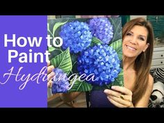 How To Paint Flowers With Acrylic Paints Step-By-Step Tutorial Acrylic Painting Flowers, Simple Acrylic Paintings, Acrylic Painting Techniques, Paintings Of Flowers, Colorful Paintings, Watercolor Techniques, Animal Paintings, Painting Flowers Tutorial, How To Paint Flowers