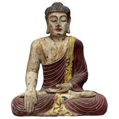 Estátua Buda Rústico Pátina 40cm - https://www.artesintonia.com.br/estatua-buda-rustico-patina-40cm