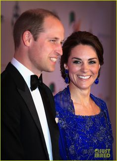 Prince William & Kate Attend Gala During Royal Visit to India