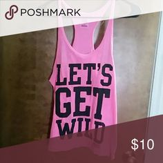 VS Pink Tank Lightweight sleep or workout tank top PINK Victoria's Secret Tops Tank Tops