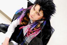Cosplay de Katekyo Hitman Reborn - Xanxus