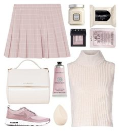 """you are my sunshine"" by dianakhuzatyan ❤ liked on Polyvore featuring Glamorous, Givenchy, Laura Mercier, NIKE, Therapy, Christian Dior, H&M, Kocostar, NARS Cosmetics and women's clothing"