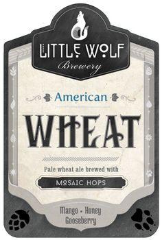 Little Wolf American Wheat Beer Beer Industry, Wheat Beer, Craft Beer, Brewery, Ale, African, Ale Beer, Ales