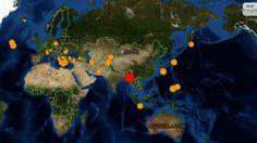 7.0 Earthquake Strikes Myanmar, Other Global Quake Updates