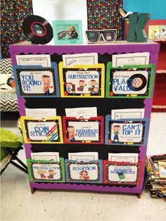 Math Center activities for early finishers.  Maybe I could use some of them for Math Daily 5??