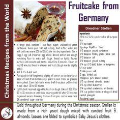 The Famous German Christmas Cake!