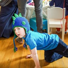Then as 12 o'clock ticked by The dragon stood with his head held high Crochet Dragon, Best Christmas Presents, Blue Dragon, Hat Making, Enchanted, Mittens, Gifts For Kids, Gift Guide, Best Gifts