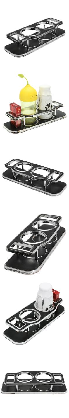 Cup Bottle Can Drink Bracket Holder Pocket Car Dashboard Stick Storage Organizer Rack
