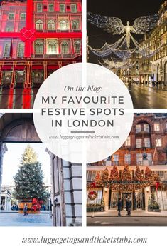 London always looks so pretty during Christmas. I've put together a guide on my favourite festive spots in the capital this year #Christmas #London