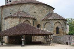 Atlas roman: Saint-Jean-de-Côle - Eglise priorale Saint-Jean-Ba... Architecture Romane, Architecture Religieuse, Saint Jean Baptiste, Beaux Villages, Dordogne, Chapelle, Gazebo, Medieval, Study