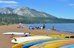 Carla's Favorite Lake Tahoe Beach! Baldwin Beach in Lake Tahoe