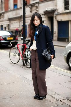 Lovely pants and jacket.