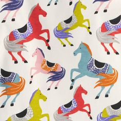 pattern by Boden Textures Patterns, Print Patterns, Horse Fabric, Horse Illustration, Horse Pattern, Horse Print, Kids Prints, Bird Design, Stuffed Animal Patterns