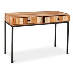 Hernwood Desk Brown - Threshold™ - image 1 of 3 Home Office Furniture, Desk, Furniture, Desk Essentials, Reclaimed Wood Finish, Small Guest Rooms, White Desk Chair, Sliding Wardrobe Doors, Target Furniture