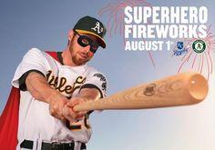 Look, up in the sky! It's a bird... it's a plane... it's SUPERHERO FIREWORKS on August 1, 2014!