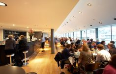 Portrait Restaurant - National Portrait Gallery - Beautiful view of London in a civilised atmosphere