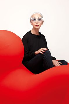She has been described as a 'fairy godmother', and she says her designers are like family. If so, she's the undisputed matriarch of the clan. We marvel at the inimitable Rossana Orlandi.