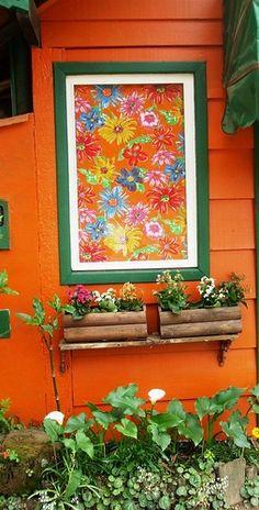 Chita na janela by Yvone