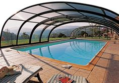 Pride of your pool, heart of your garden.... that´s our pool enclosure TROPEA