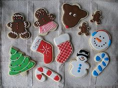 This isn't a tutorial, I just wanted to share the cookies I decorated yesterday. I've just recently started decorating with Royal Icing. If you remember, I made Thanksgiving cookies as well as football jersey cookies. The cut out sugar cookie recipe and the royal icing recipe are both available here. I made some snowflakes, but they just didn't turn out the   Read More »