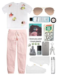"""Sem título #471"" by mariana-almeida-4 ❤ liked on Polyvore featuring H&M, Carven, Ray-Ban, philosophy, adidas Originals, Native Union, NARS Cosmetics, Universal Lighting and Decor, Stila and People Tree"