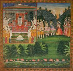 The Brahmin Wives Blessed