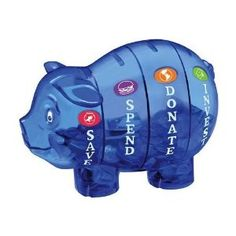 Money Savvy Piggy Bank and thousands more of the very best toys at Fat Brain Toys. Money Savvy Piggy Bank teaches valuable financial lessons through a practical and fun method. Savvy Piggy Bank features four individual chamber. Teaching Money, Teaching Kids, Managing Money, Pig Bank, Ideias Diy, Exercise For Kids, Money Matters, Marketing, Money Management
