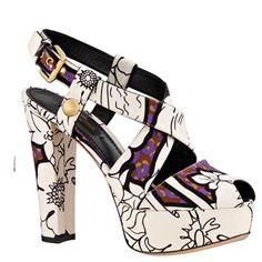 Louis Vuitton 2013 Cruise Series fabric sandals