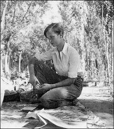 À Farmanieh, près de Téhéran (1935). Photographie prise par Claude Achille Clarac