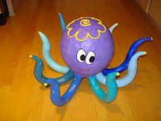 Paper Mache Octopus by mymache on Etsy