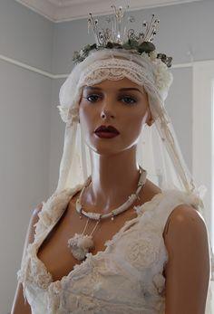 Wedding dress by Judith Bech
