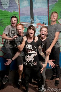 Blessthefall - I loved them with Craig, and I still love them with Beau. Sound Of Music, Music Is Life, Good Music, Screamo Bands, Band Photography, Of Mice And Men, Music Humor, Band Memes, Pop Punk