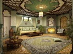 Sala de estar Villa - Alta Decoración Locus Muebles